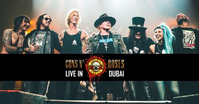 Guns N' Roses Coming to DUBAI