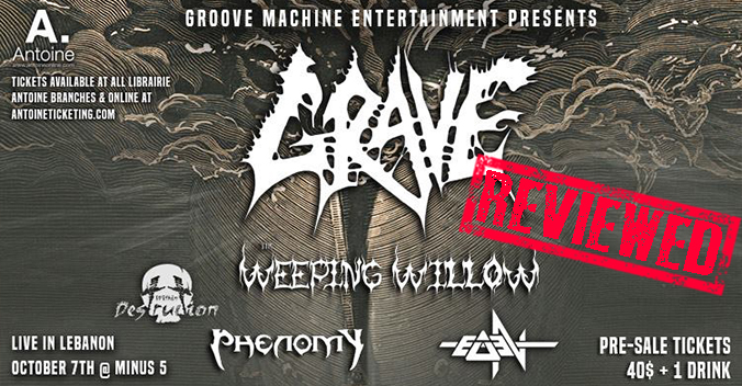 Grave Live In Lebanon Review