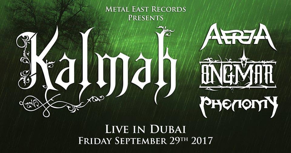 Kalmah Live In Dubai