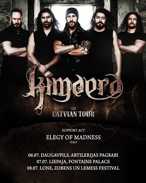 KIMAERA Latvian Tour