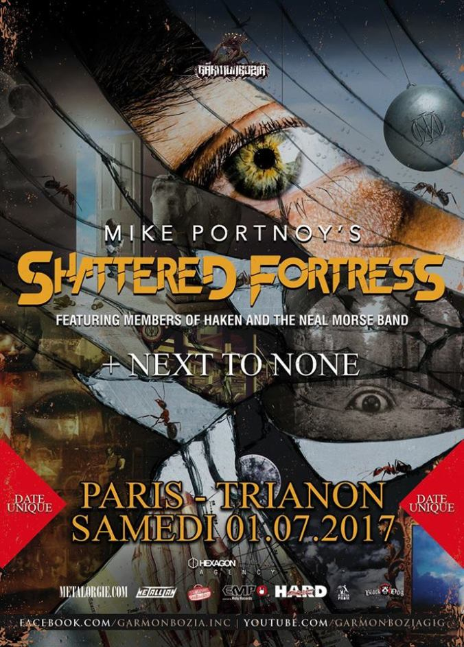 Shattered Fortress Live In Paris