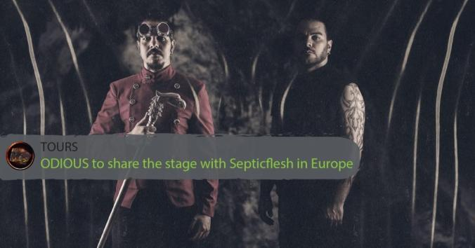 ODIOUS to share the stage with Septicflesh in Europe