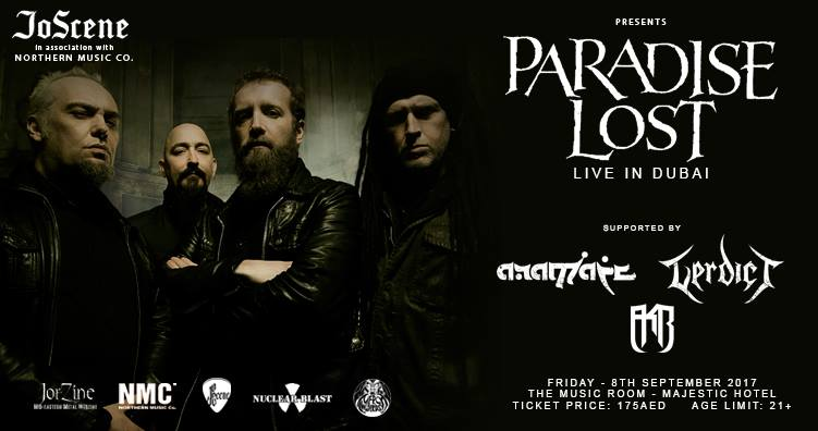 Paradise Lost Live In Dubai