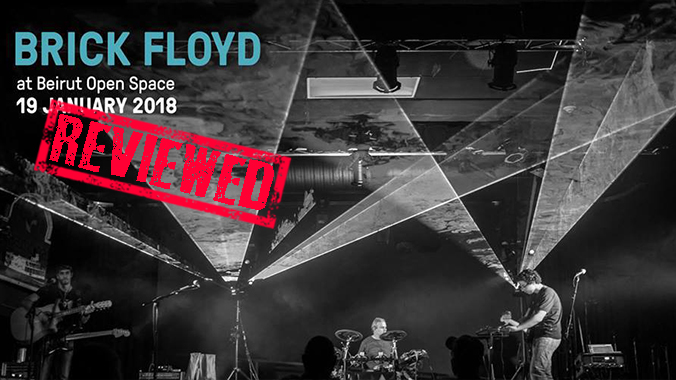 Brick Floyd Live at Beirut Open Space REVIEW