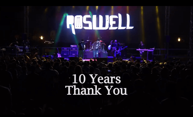 ROSWELL TENTH ANNIVERSARY