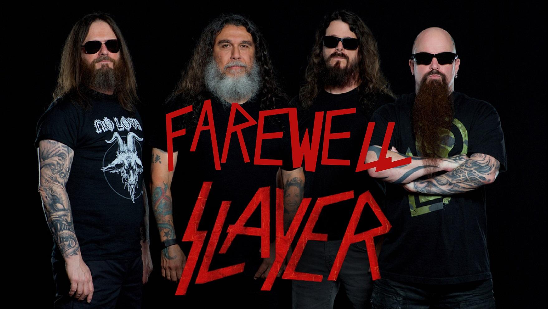 Slayer Farewell Tour