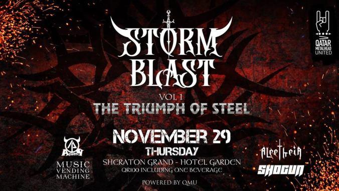 Storm Blast Vol 1