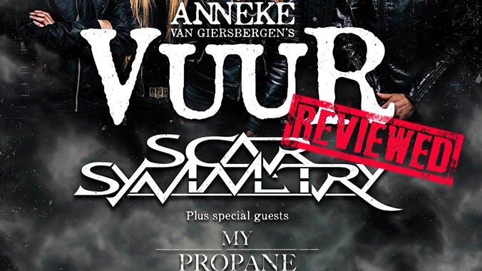 Anneke Van Giesbergen's VUUR First Headlining show REVIEW