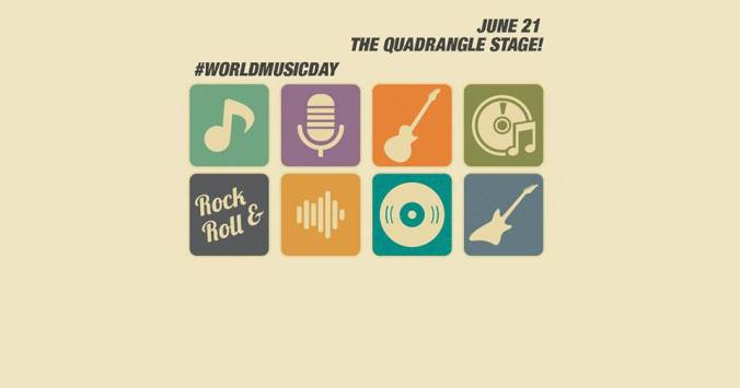 World Music Day at Quadrangle