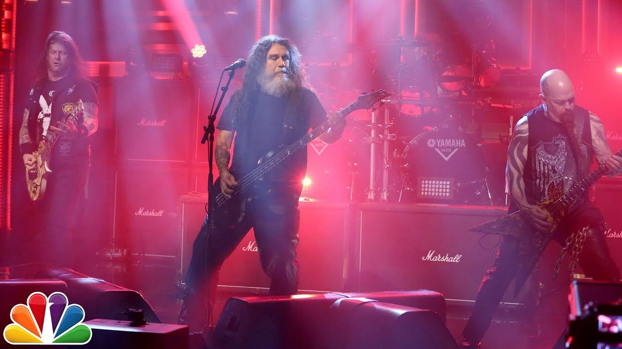 SLAYER Rips Raining Blood