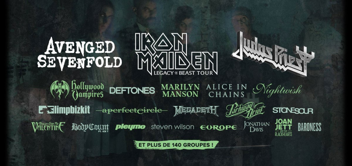 Hellfest 2018 | Iron Maiden, Judas Priest Avenged Sevenfold and 150 others