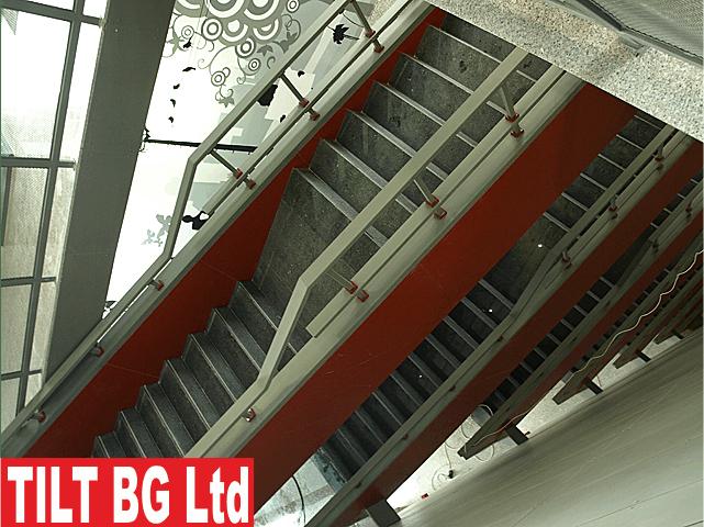 Изработка на стълбища от метал. Монтаж на стълбища от метал.