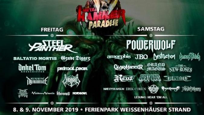 Metal Hammer Paradise 2019 Flyer