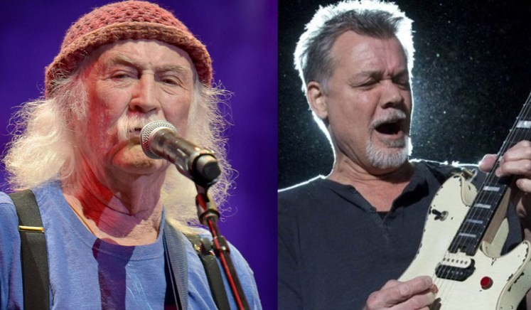 David Crosby Eddie Van Halen