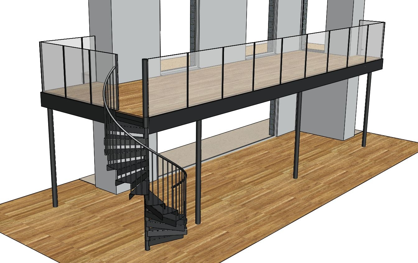 Balcony Metal Surgery Projects Balcony Spiral   Metal Staircases And Balconies