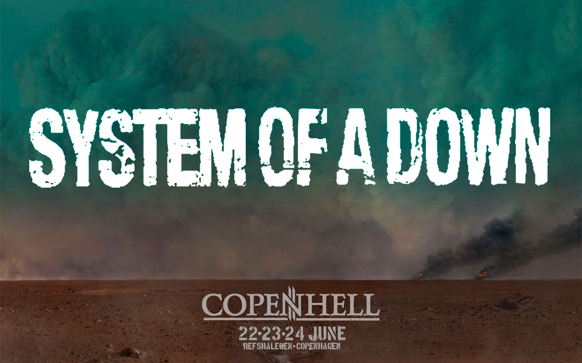 System of a Down til Copenhell!
