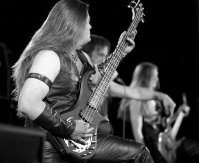 0F - Malice live - Bass Guitars - The Metal Warrior Rayman James