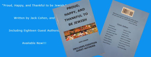 Proud, Happy, and Thankful to be Jewish