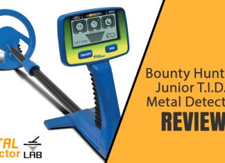 bounty hunter junior metal detector reviews