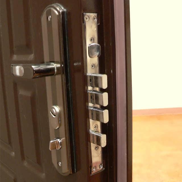 Recoding Locks Inlet Iron Door.