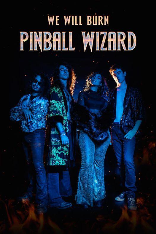 Cartel concierto Pinball Wizard