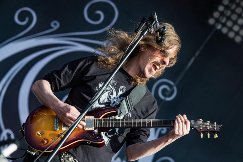 Opeth sur scène au Download en 2018