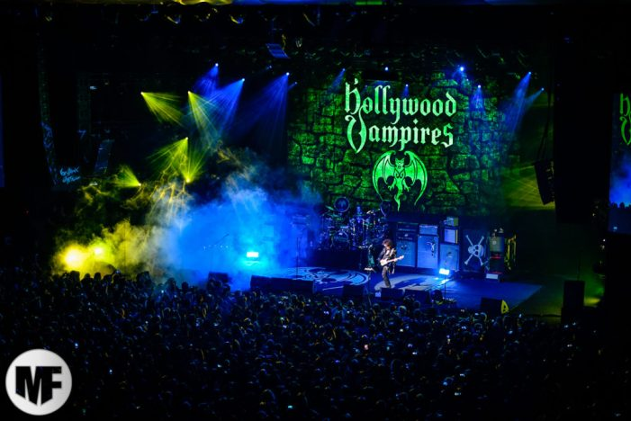 The Hollywood Vampire's au Montreux Jazz Festival le 05/06/2018
