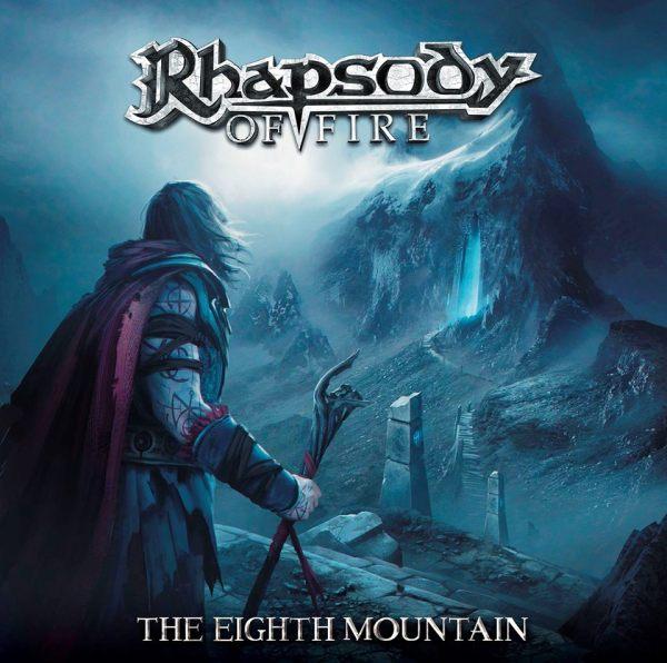 rhapsody of fire pochette de the eighth mountain sortie en 2019