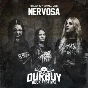 Nervosa Durbuy Rock Festival