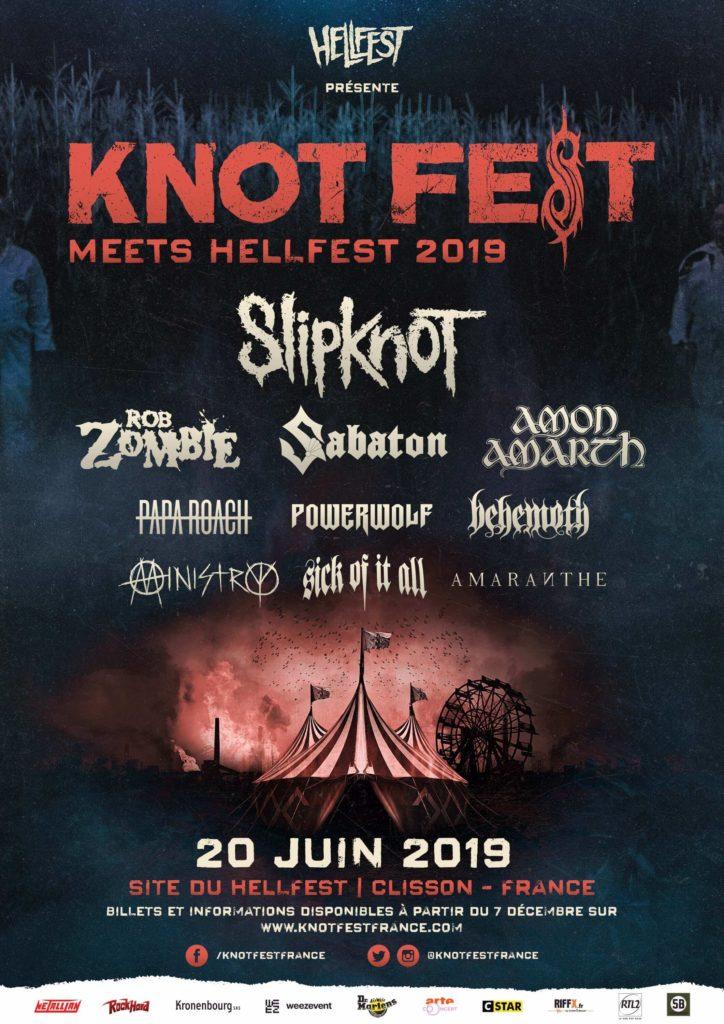 Knotfest Clisson 2019