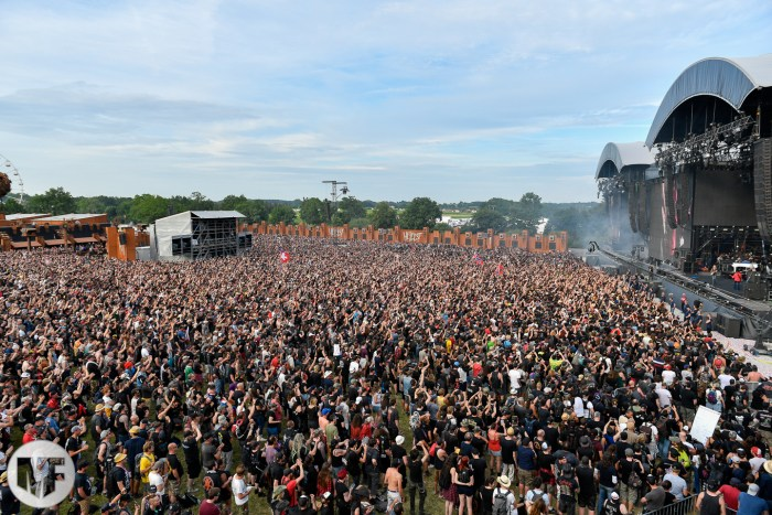 Photo d'ambiance au Hellfest Open Air 2019
