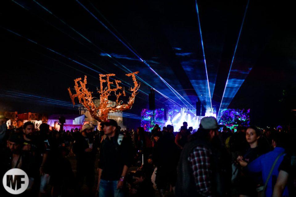 Photo d'ambiance au Hellfest Open Air 2019