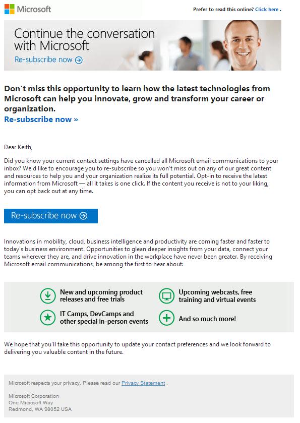 microsoft shithead email