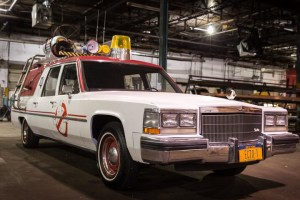 Ecto-1 from Ghostbusters (2016)