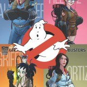 The New Ghostbusters crew