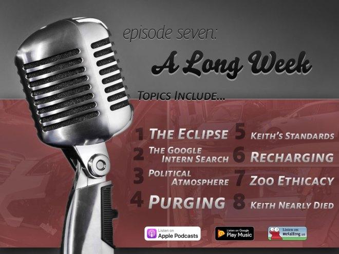 Episode Seven: A Long Week Topics