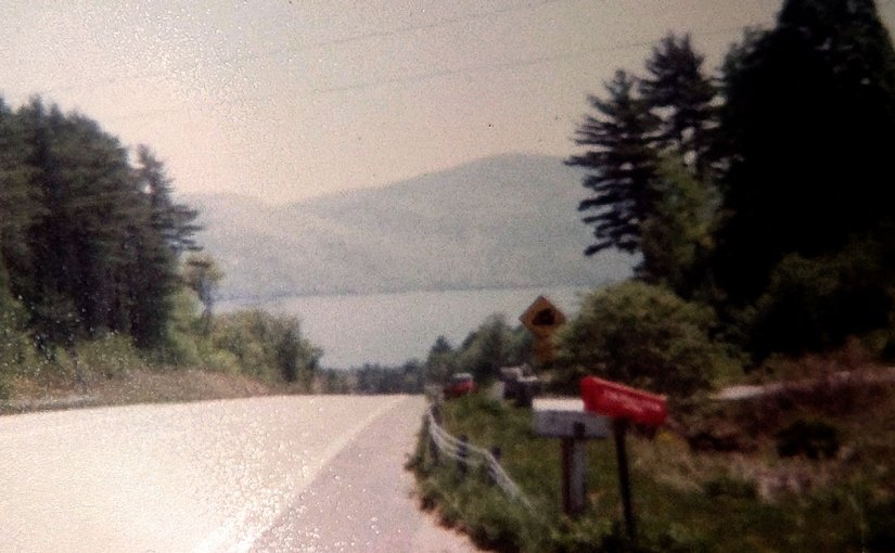 Bolton Landing in 1983 from outside Scenic View Campground