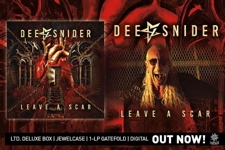 Dee Snider, Leave A Scar, Down But Never Out