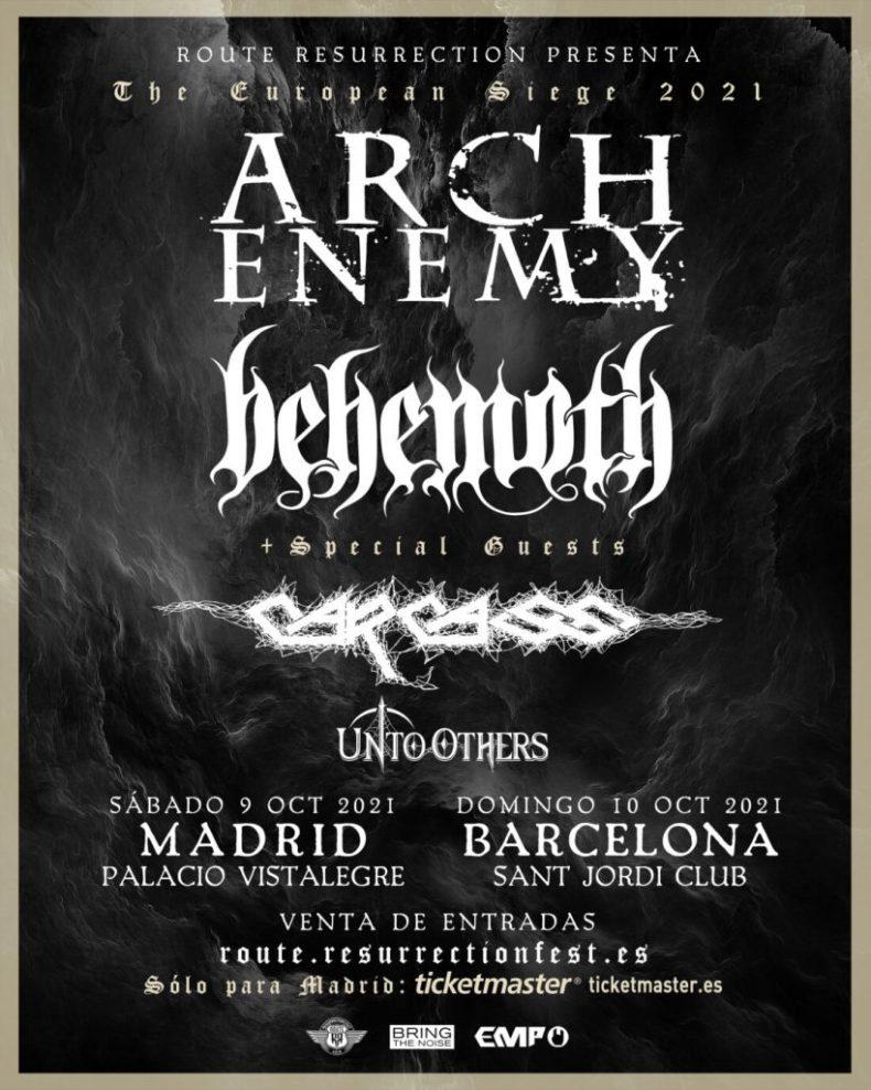 Behemoth, Arch Enemy