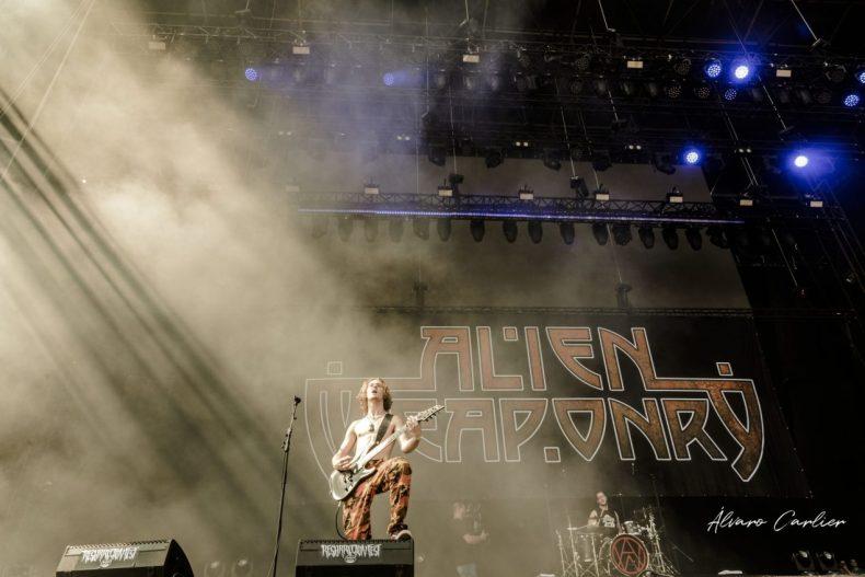 Alien Weaponry, Alvaro Carlier