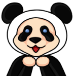 Pandamaxxie happy