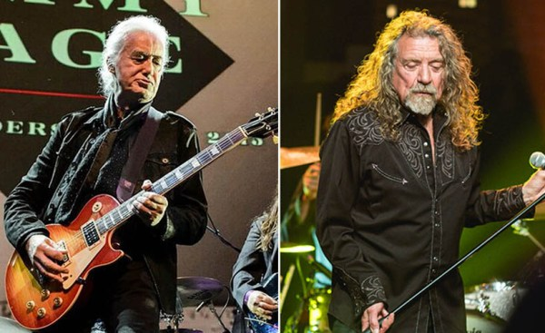 Jimmy Page Shares Little-known Project With Robert Plant ...