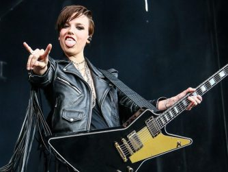 Halestorm's Lzzy Hale Reveals Why She's 'Self-Touching' During Sleepless  Nights - Metalhead Zone
