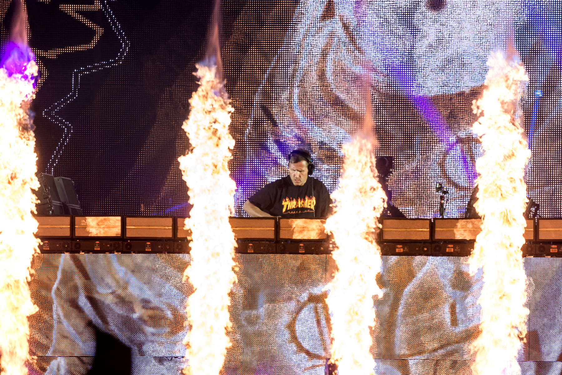 Kaskade at Ile Soniq 2019