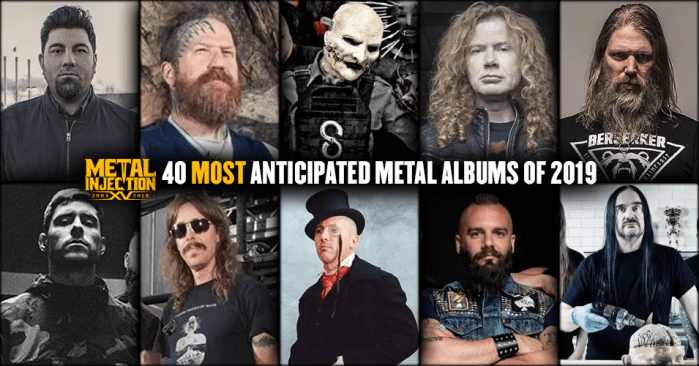 Best New Metalcore Bands 2019 40 Most Anticipated Heavy Metal Albums of 2019