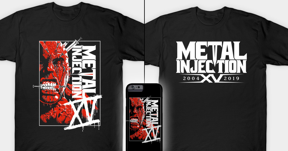 Celebrate Metal Injection's 15th Anniversary with These New Limited Edition T-Shirts
