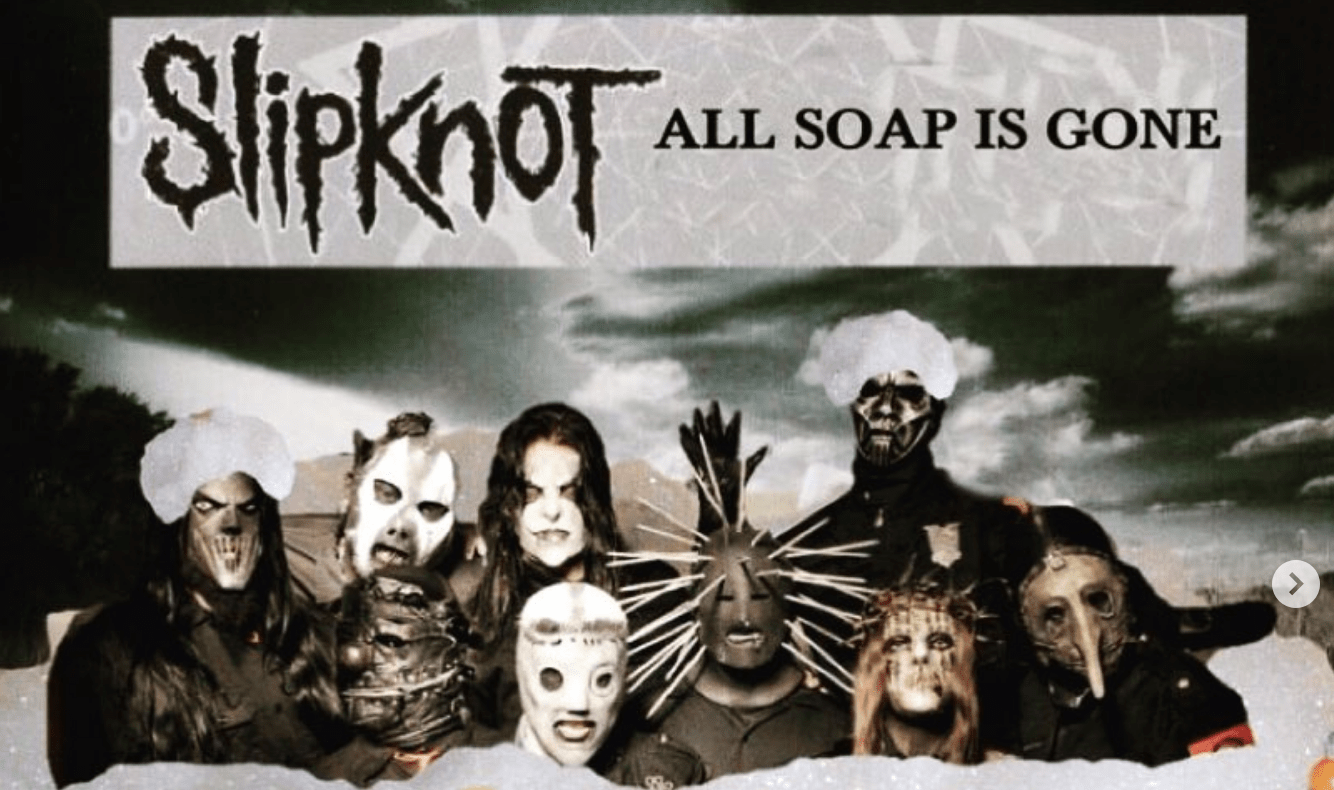 these album covers for slipknot mayhem ac dc more are just a little off. Black Bedroom Furniture Sets. Home Design Ideas