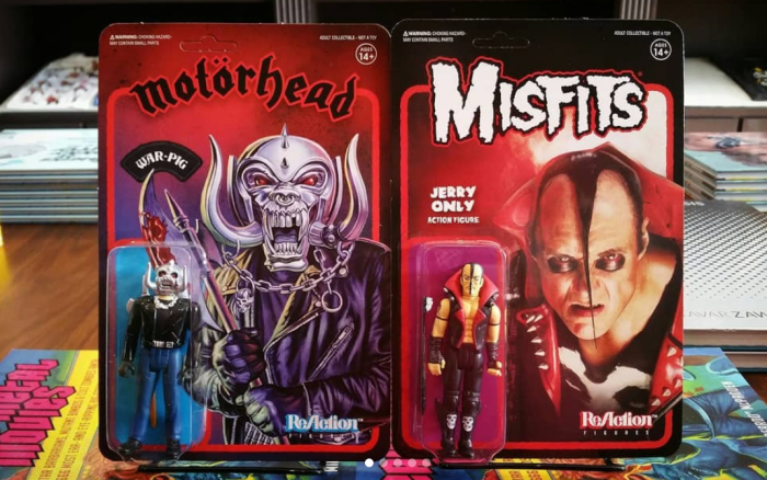 MISFITS & MOTÖRHEAD Action Figures Now Available
