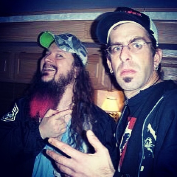 Just Two Photos of Dimebag Darrell and LAMB OF GOD's Randy