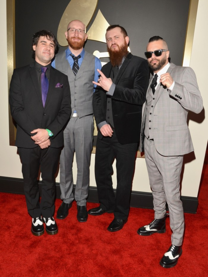 Killswitch Engage at the Grammys 2014
